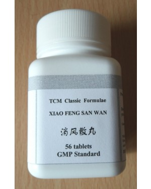 Xiao Feng San Wan Herbal Tablets for Itchy Skin Rash Hives Urticaria